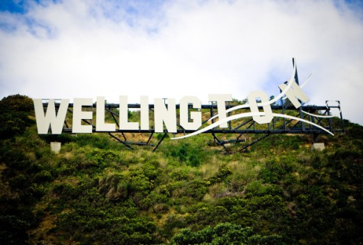 Windy Wellington sign