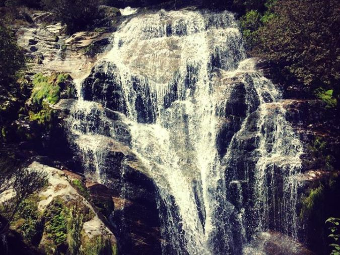 Picture of a waterfall