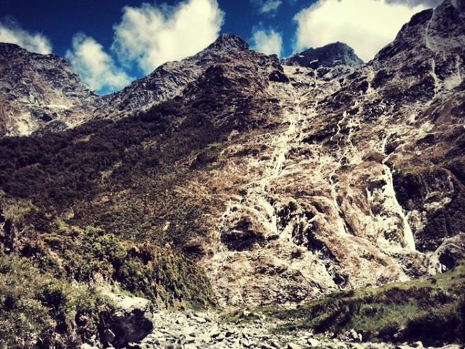 Picture of mountain.