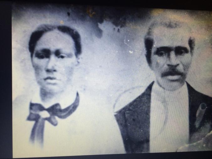 Picture of Jess's ancestors.