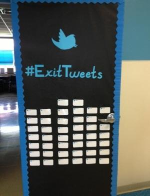 Exit slip tweets