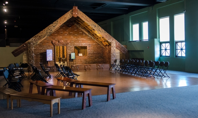 Picture of the marae
